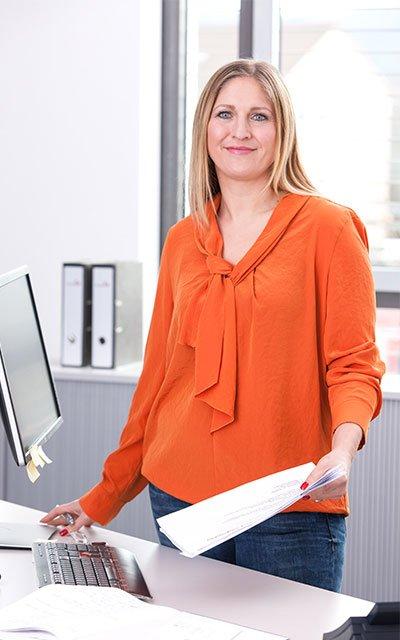 Tatjana Heß, Gruppenleitung Qualitätsmanagement bei Glöckle